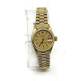 Rolex Datejust 6917 Gold 26mm Womens Watch
