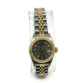 Rolex Datejust 69173 Steel 26mm Womens Watch