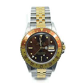Rolex Gmt Master 16753 Steel 40mm Watch