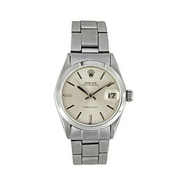 Rolex Oysterdate 6466 Steel 30mm Watch