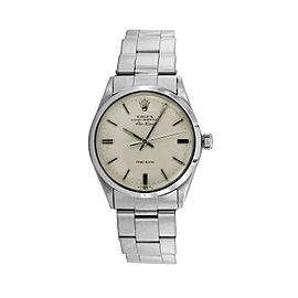 Rolex Air-king 5500 Steel 34mm Watch