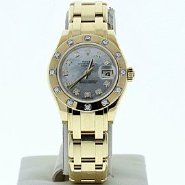 Rolex Datejust 80318 Gold Womens Watch