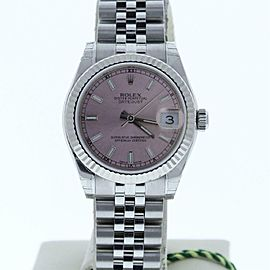 Rolex Datejust 178274 Steel Women Watch (Certified Authentic & Warranty)