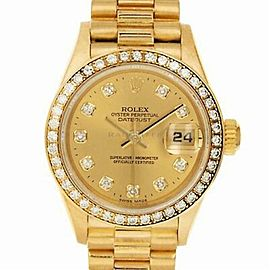 Rolex Datejust 79138 Gold 26.0mm Women Watch