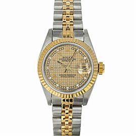 Rolex Datejust 69173 Steel 26.0mm Women Watch