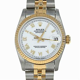 Rolex Datejust 68273 Gold 31.0mm Womens Watch