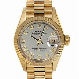 Rolex Datejust 16234 Gold 26.0mm Women Watch
