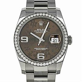 Rolex Datejust 116244 Gold 36.0mm Women Watch