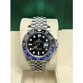 BRAND NEW Rolex Batman GMT Master II 126710 Stainless Steel Box & Papers 2019