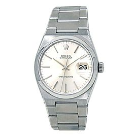 Rolex Datejust Oyster Quartz (5 Serial) Stainless Steel Men's Watch 17000