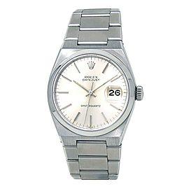 Rolex Datejust Oyster Quartz (5 Serial) Stainless Steel Men's Watch 17000