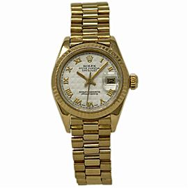 Rolex Datejust 6917 Gold 26.0mm Women Watch (Certified Authentic & Warranty)
