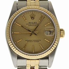 Rolex Datejust 68273 Steel 31.0mm Women Watch (Certified Authentic & Warranty)