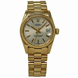 Rolex Datejust 6827 Gold 31.0mm Women Watch (Certified Authentic & Warranty)