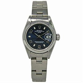 Rolex Date 79160 Steel 26.0mm Women Watch (Certified Authentic & Warranty)