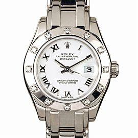 Rolex Masterpiece 80319 Gold 29.0mm Women Watch (Certified Authentic & Warranty)