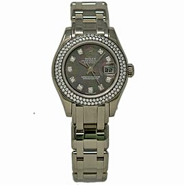 Rolex Masterpiece 80339 Gold 29.0mm Women Watch (Certified Authentic & Warranty)