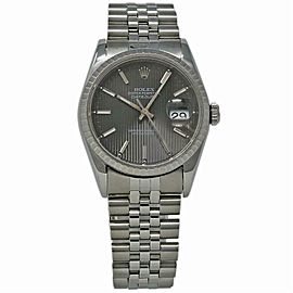 Rolex Datejust 16220 Steel 36.0mm Women Watch (Certified Authentic & Warranty)
