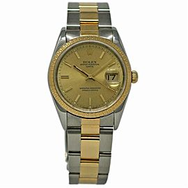 Rolex Date 15233 Steel 34.0mm Women Watch (Certified Authentic & Warranty)