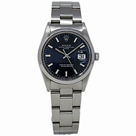 Rolex Date 15000 Steel 34.0mm Women Watch (Certified Authentic & Warranty)