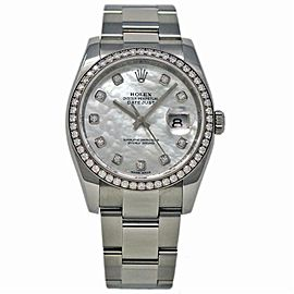 Rolex Datejust 116244 Steel 36.0mm Women Watch (Certified Authentic & Warranty)