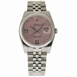 Rolex Datejust 116200 Steel 36.0mm Women Watch (Certified Authentic & Warranty)