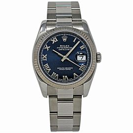 Rolex Datejust 116234 Steel 36.0mm Women Watch (Certified Authentic & Warranty)