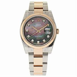 Rolex Datejust 116201 Steel 36.0mm Women Watch (Certified Authentic & Warranty)