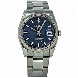 Rolex Date 115234 Steel 34.0mm Women Watch (Certified Authentic & Warranty)