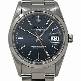 Rolex Date 15200 Steel 34.0mm Women Watch (Certified Authentic & Warranty)