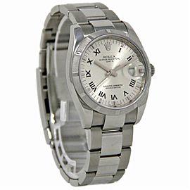 Rolex Date 115210 Steel 34.0mm Women Watch (Certified Authentic & Warranty)