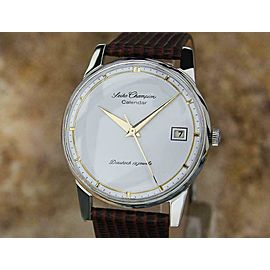 Seiko Champion Calendar Mens 35mm Manual Japan Classic 1960s Vintage Watch MO2