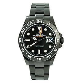 Rolex Explorer Ii 216570 Pvd 42mm Watch (Certified Authentic & Warranty)