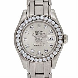 Rolex Pearlmaster 69299 Gold 28.0mm Women Watch (Certified Authentic & Warranty)