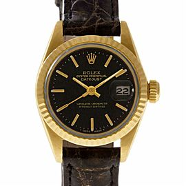 Rolex Datejust 6917 Gold 25.0mm Women Watch (Certified Authentic & Warranty)