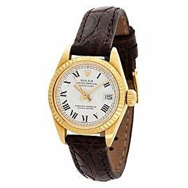 Rolex Datejust 6917 Gold 0.0mm Women Watch (Certified Authentic & Warranty)