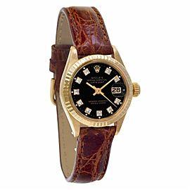 Rolex Datejust 6916 Gold 26.0mm Women Watch (Certified Authentic & Warranty)