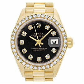 Rolex Datejust 69138 Gold 26.0mm Women Watch (Certified Authentic & Warranty)