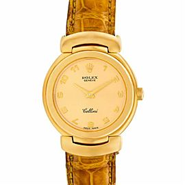 Rolex Cellini 6621 Gold 0.0mm Women Watch (Certified Authentic & Warranty)