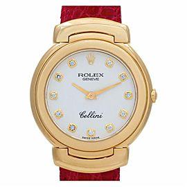 Rolex Cellini 6622 Gold 33.0mm Women Watch (Certified Authentic & Warranty)