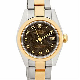 Rolex Datejust 179163 Gold 32.0mm Women Watch (Certified Authentic & Warranty)