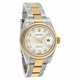Rolex Datejust 179163 Gold 26.0mm Women Watch (Certified Authentic & Warranty)