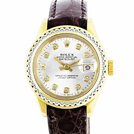 Rolex Datejust 69278 Gold 0.0mm Women Watch (Certified Authentic & Warranty)