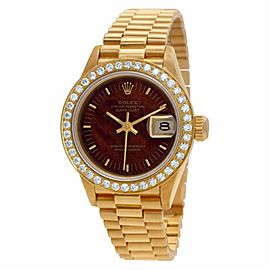 Rolex Datejust 69178 Gold 26.0mm Women Watch (Certified Authentic & Warranty)