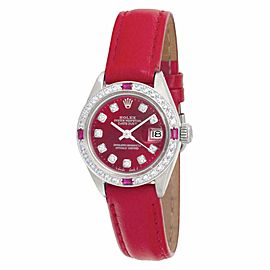 Rolex Date 6916 Steel 26.0mm Women Watch (Certified Authentic & Warranty)