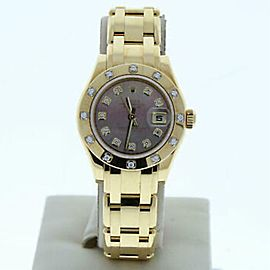 Rolex Datejust 80318 Gold 29.0mm Women Watch (Certified Authentic & Warranty)