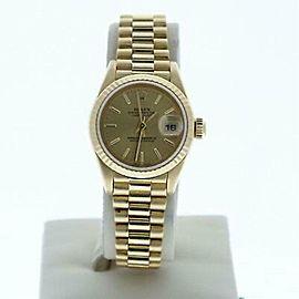 Rolex Datejust 69178 Gold 26.0mm Women Watch (Certified Authentic & Warranty)