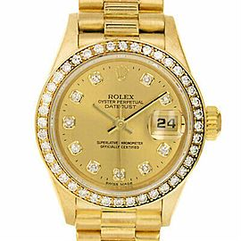 Rolex Datejust 79138 Gold 26.0mm Women Watch (Certified Authentic & Warranty)