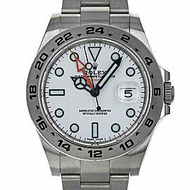 Rolex Explorer Ii 216570 Gold 42.0mm Watch (Certified Authentic & Warranty)