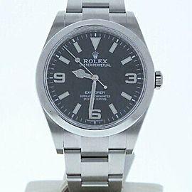 Rolex Explorer 214270 Steel 39.0mm Watch (Certified Authentic & Warranty)
